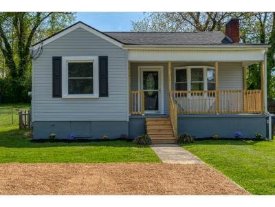 Bristol TN Single Family Home For Sale: $129,985