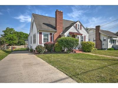 Kingsport Single Family Home For Sale: 1704 Virginia Avenue