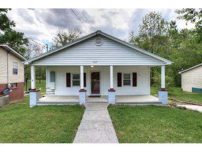 Johnson City Single Family Home For Sale: 707 Antioch Road