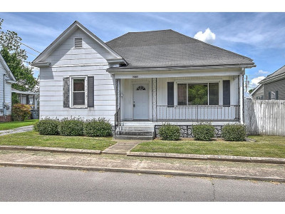Bristol Single Family Home For Sale: 1305 Anderson Street