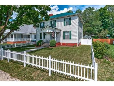 Bristol Single Family Home For Sale: 517 Pennsylvania Ave
