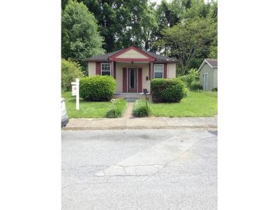 Elizabethton Single Family Home For Sale: 1618 Dixon St.