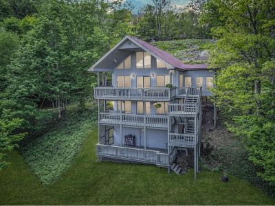 Roan Mountain Single Family Home For Sale: 133 Overlook Dr