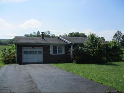 Damascus VA Single Family Home For Sale: $55,000