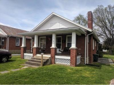 Elizabethton TN Single Family Home For Sale: $75,000