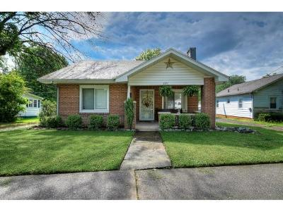 Kingsport Single Family Home For Sale: 1371 Dewey Ave