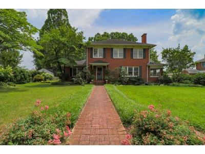 Kingsport Single Family Home For Sale: 1425 Linville Street