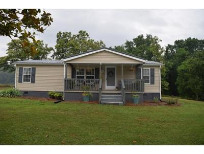 Chuckey Single Family Home For Sale: 153 Greene County Line Road