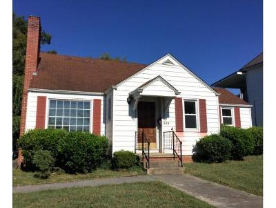 Johnson City TN Single Family Home For Sale: $135,000