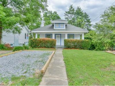 Johnson City Single Family Home For Sale: 209 Peachtree Street