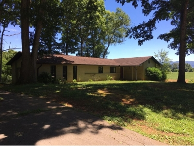 Greeneville TN Single Family Home For Sale: $129,900