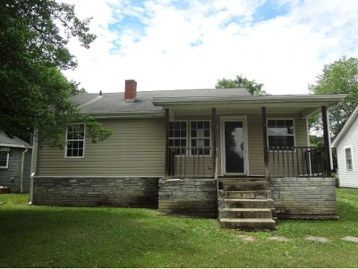 Johnson City TN Single Family Home For Sale: $48,000