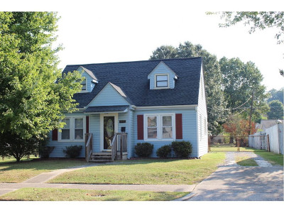 Kingsport TN Single Family Home For Sale: $128,900