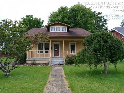 Bristol Single Family Home For Sale: 720 Florida Ave