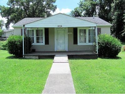 Johnson City Single Family Home For Sale: 1816 E Watauga Ave
