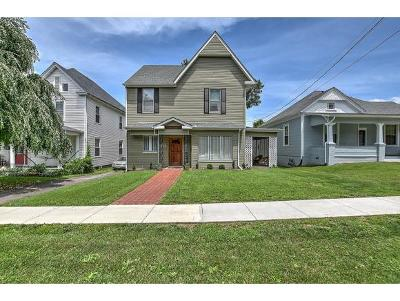 Bristol Single Family Home For Sale: 705 Maryland Ave