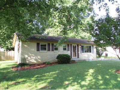 Elizabethton Single Family Home For Sale: 618 Race Street
