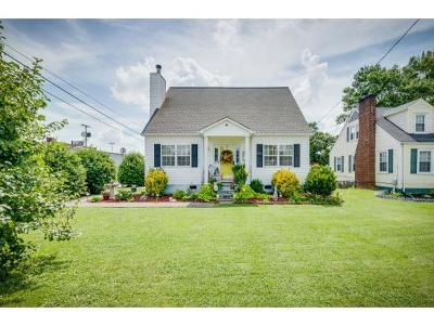 Kingsport Single Family Home For Sale: 2825 East Center Street