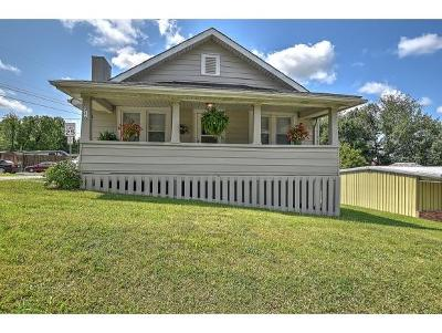 Bristol Single Family Home For Sale: 216 E Cedar St