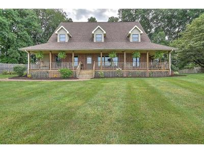Abingdon Single Family Home For Sale: 18588 Old Jonesboro Road