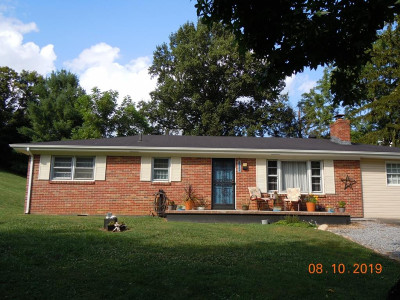 Bristol VA Single Family Home For Sale: $160,000