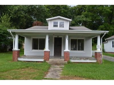 Greeneville TN Single Family Home For Sale: $15,000