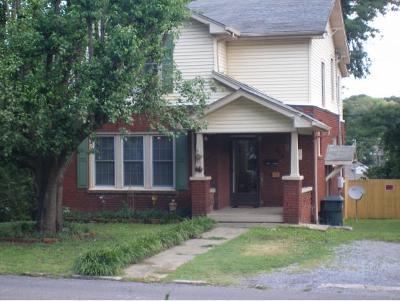 Bristol VA Single Family Home For Sale: $89,900