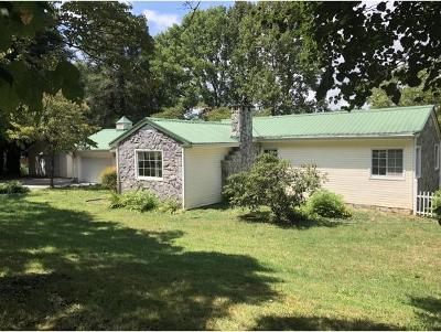 Elizabethton Single Family Home For Sale: 1713 Sylvan Hill Rd