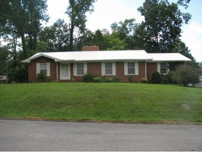 Greeneville TN Single Family Home For Sale: $135,900
