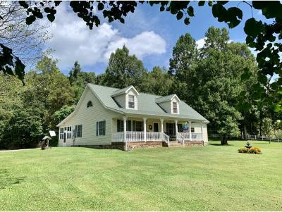 Damascus, Bristol, Bristol Va City Single Family Home For Sale: 21209 Kels Place