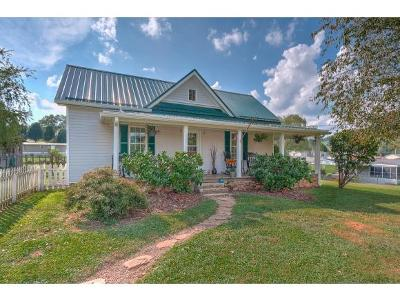 Elizabethton Single Family Home For Sale: 116 Cecil Vanhuss Rd