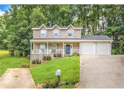 Greeneville TN Single Family Home For Sale: $190,000
