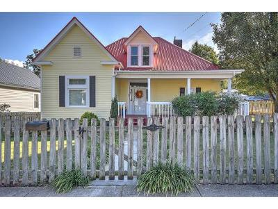 Bristol Single Family Home For Sale: 842 Hill St