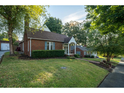 Johnson City Single Family Home For Sale: 714 West Hillcrest Drive