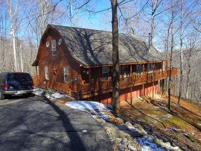 Byrdstown Single Family Home For Sale: 5700 Eagles Cove Road