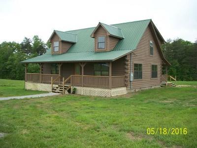 Crossville Single Family Home For Sale: 1315 Albert Frye Rd