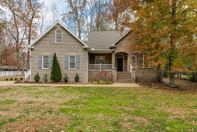 Cookeville Single Family Home Active Contingency: 1260 Woodlake Trace