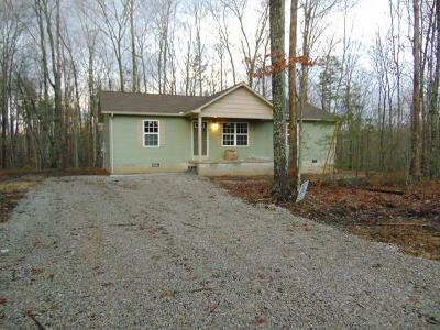 Grimsley TN Single Family Home For Sale: $129,900