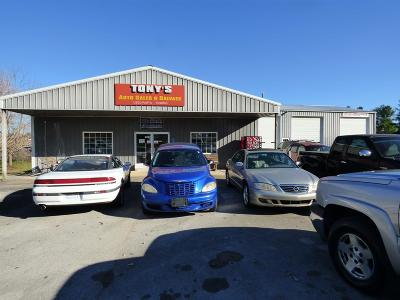 Crossville Commercial For Sale: 1057 Old Mail Rd