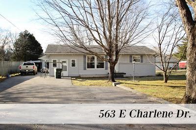 Sparta Single Family Home For Sale: 563 E Charlene Drive