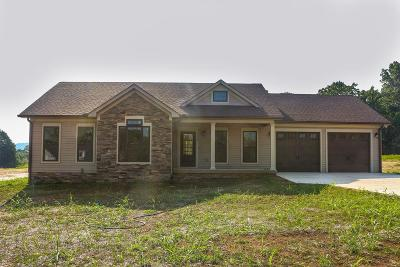 Cookeville Single Family Home For Sale: Lot 33 Crooked Creek Drive