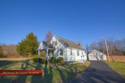 Sparta Single Family Home For Sale: 780 Demps Road