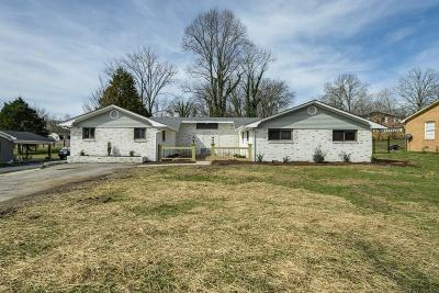 Cookeville Single Family Home Active Contingency: 1060 Mitchell Avenue