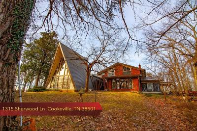 Cookeville Single Family Home For Sale: 1315 Sherwood Lane