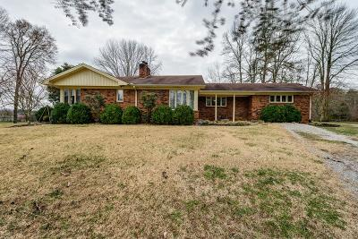 Celina Single Family Home For Sale: 6595 Clay County Highway