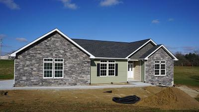 Crossville Single Family Home For Sale: Lot 15 Highland Ridge Drive