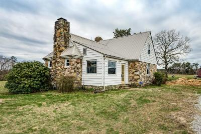 Crossville Single Family Home For Sale: 1863 Sawmill Road