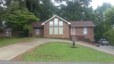 Cookeville Single Family Home For Sale: 2435 Oak Park Dr