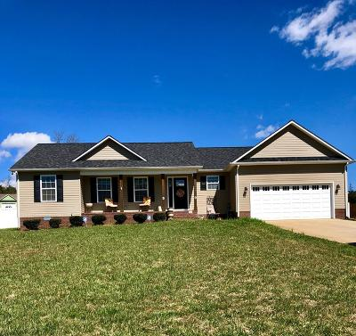 Cookeville Single Family Home For Sale: 2180 Bear Creek Circle