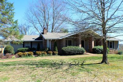 Cookeville Single Family Home For Sale: 2205 Hidden Cove Rd